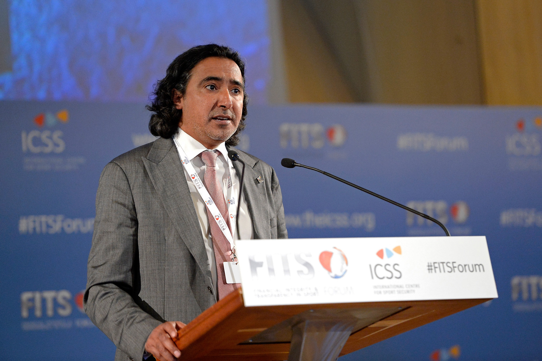 ICSS chairman Mohammed Hanzab has hailed the appointment of Karen Webb ©Getty Images