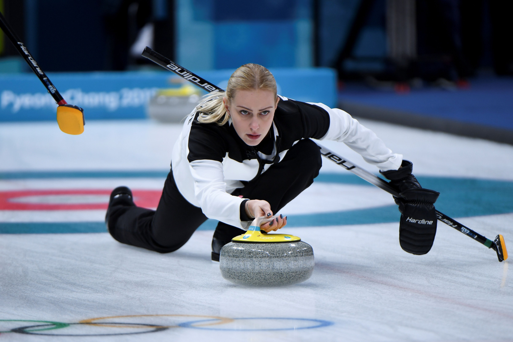 The door to the Russian Curling Federation is said to be open to Victoria Moiseeva ©Getty Images