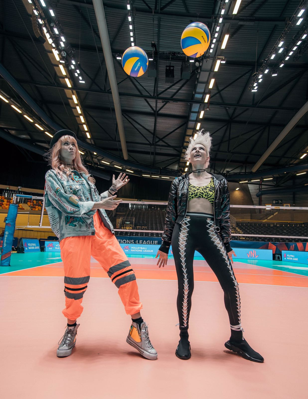 Volleyball Nations League team up with award winning DJ duo NERVO to improve fan experience