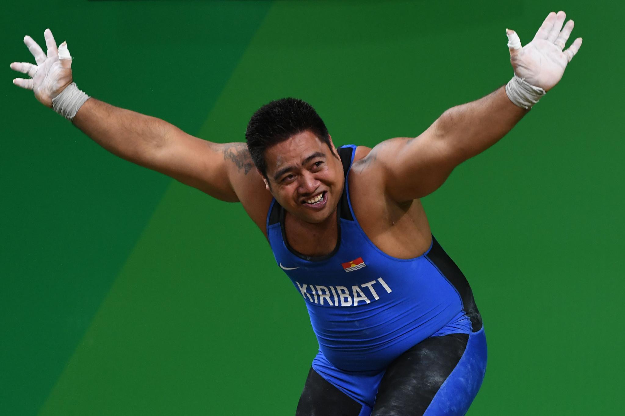 Kiribati's Commonwealth Games gold medallist Katoatau named ONOC ambassador for climate change