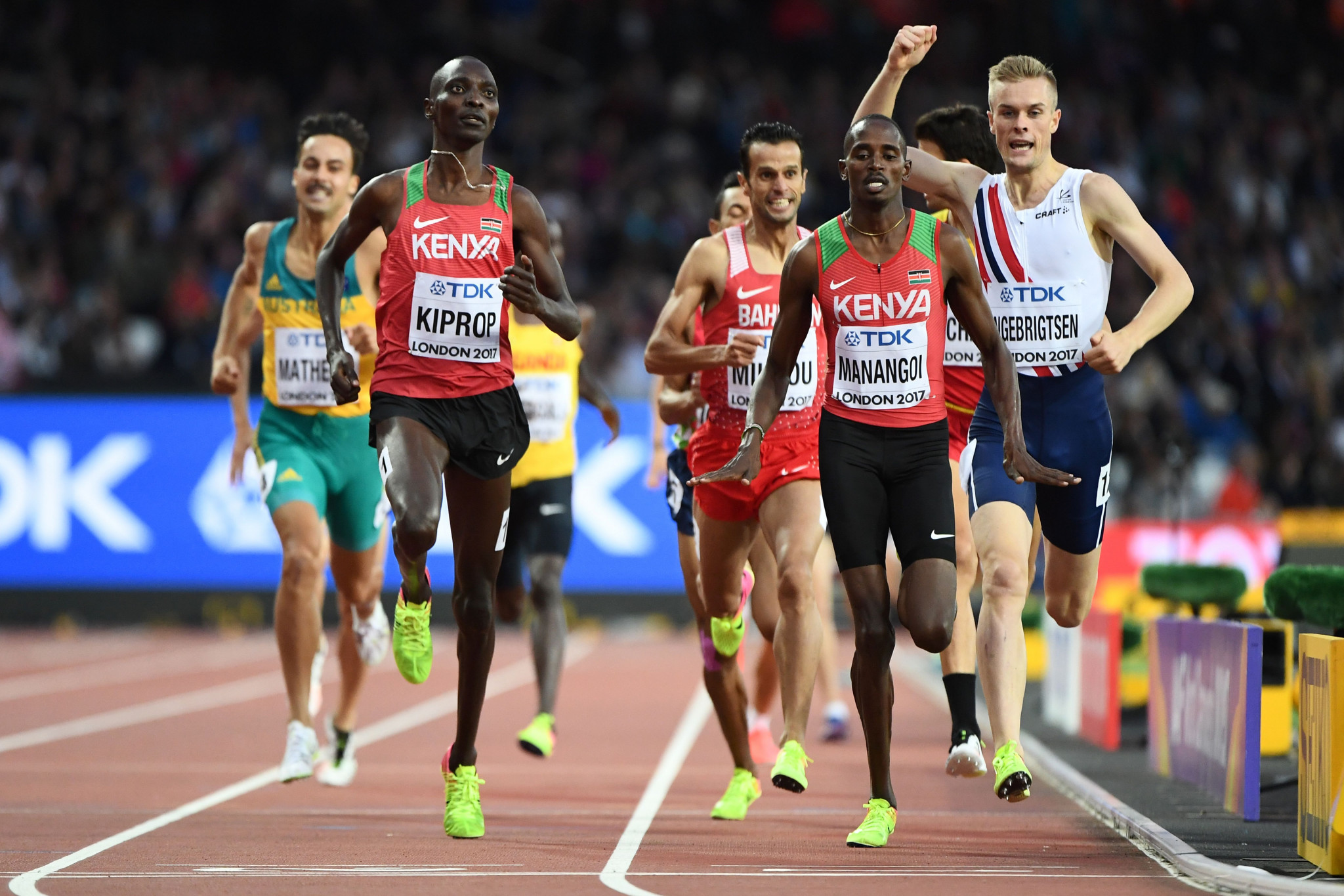 Asbel Kiprop maintains his innocence ©Getty Images