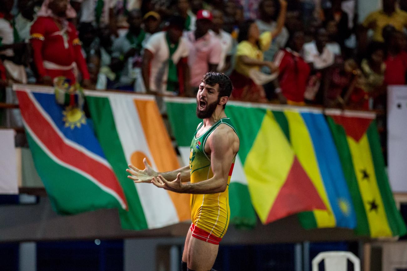 SASCOC lead tributes after African wrestling champion Combrinck dies in car crash aged 23