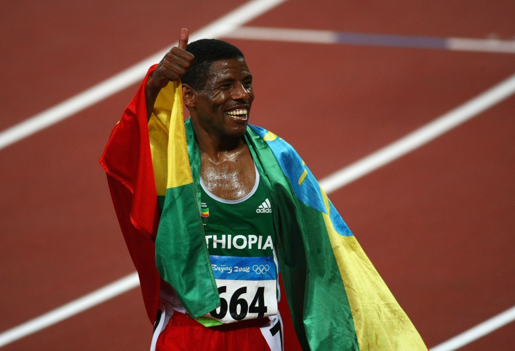 Haile Gebrselassie won two Olympic gold medals for Ethiopia