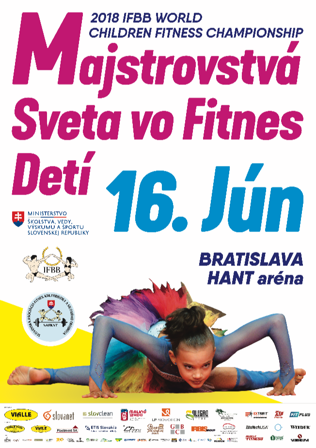 The IFBB World Children Fitness Championship is also due to take place this weekend ©IFBB