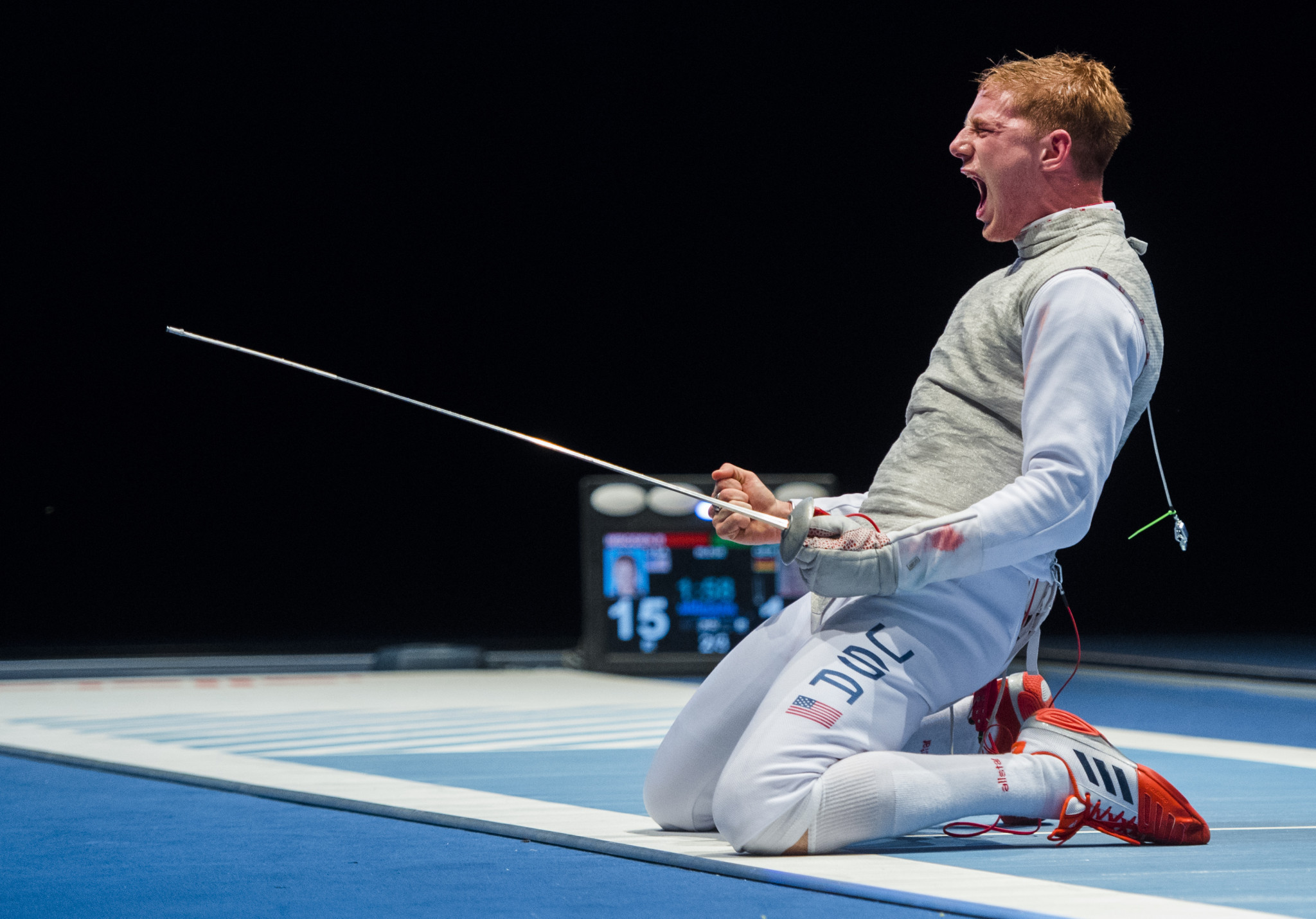 Race Imboden will be seeking a repeat win over his US team-mate ©Getty Images