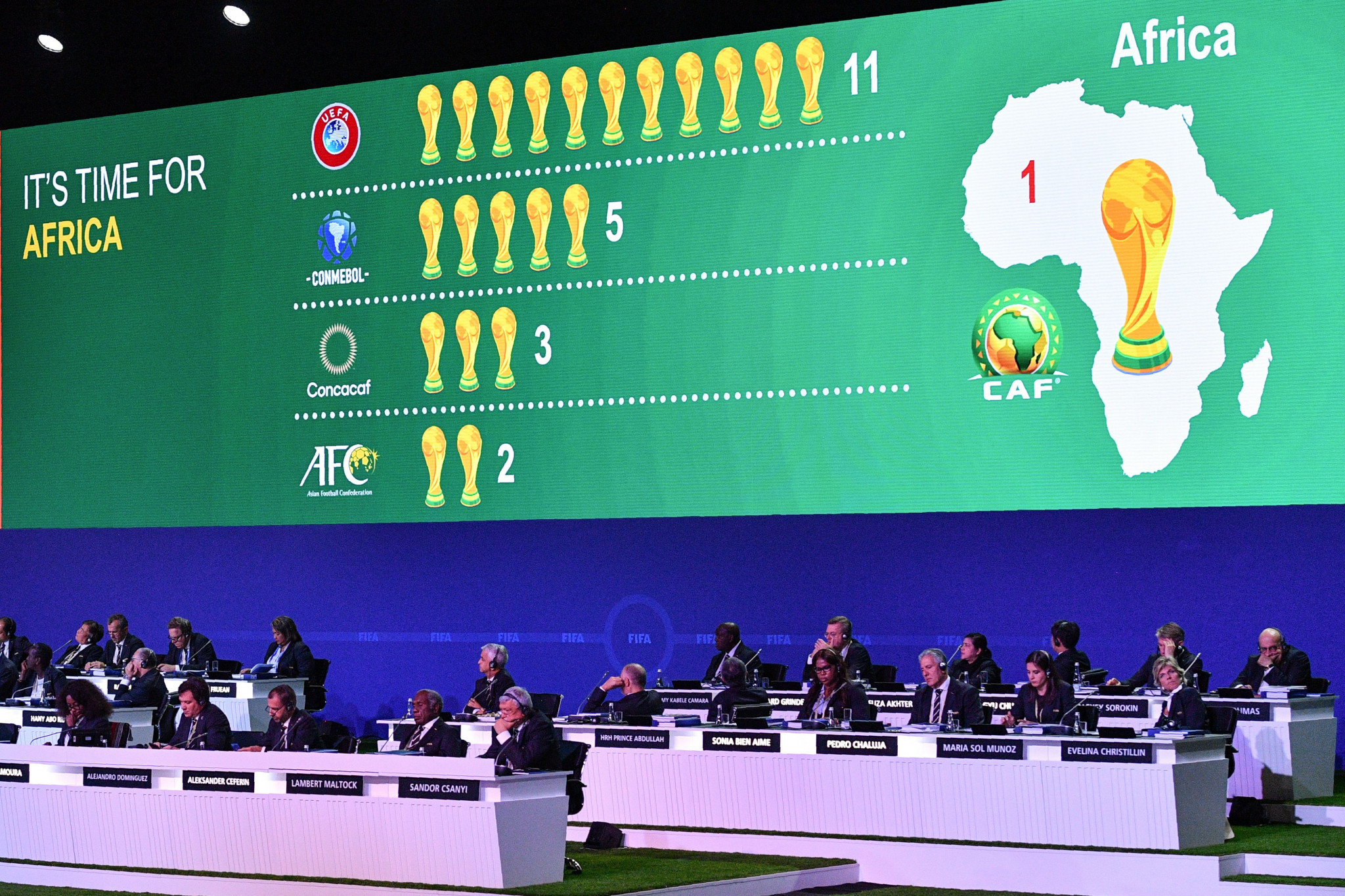 Brazil supported Morocco's unsuccessful bid ©Getty Images
