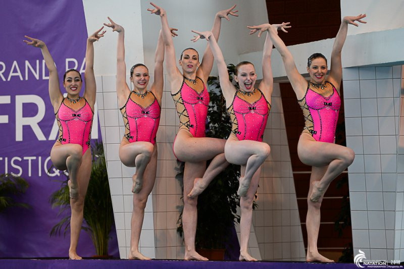 Ukraine look to continue good form at FINA Artistic Swimming World Series