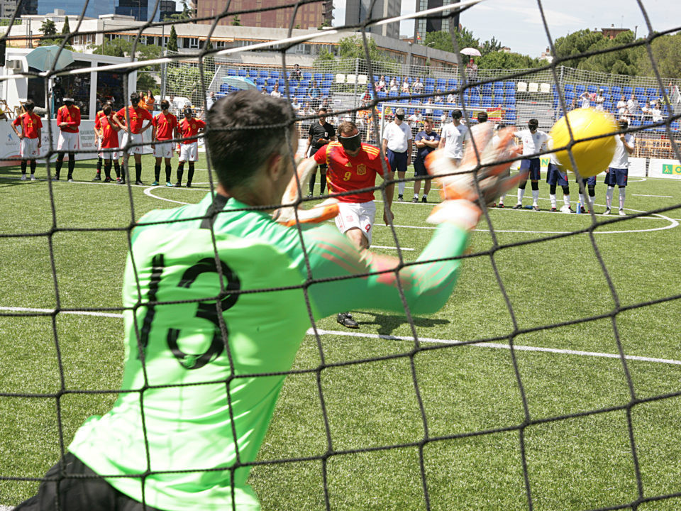 England lose another shoot-out at Blind Football World Championship