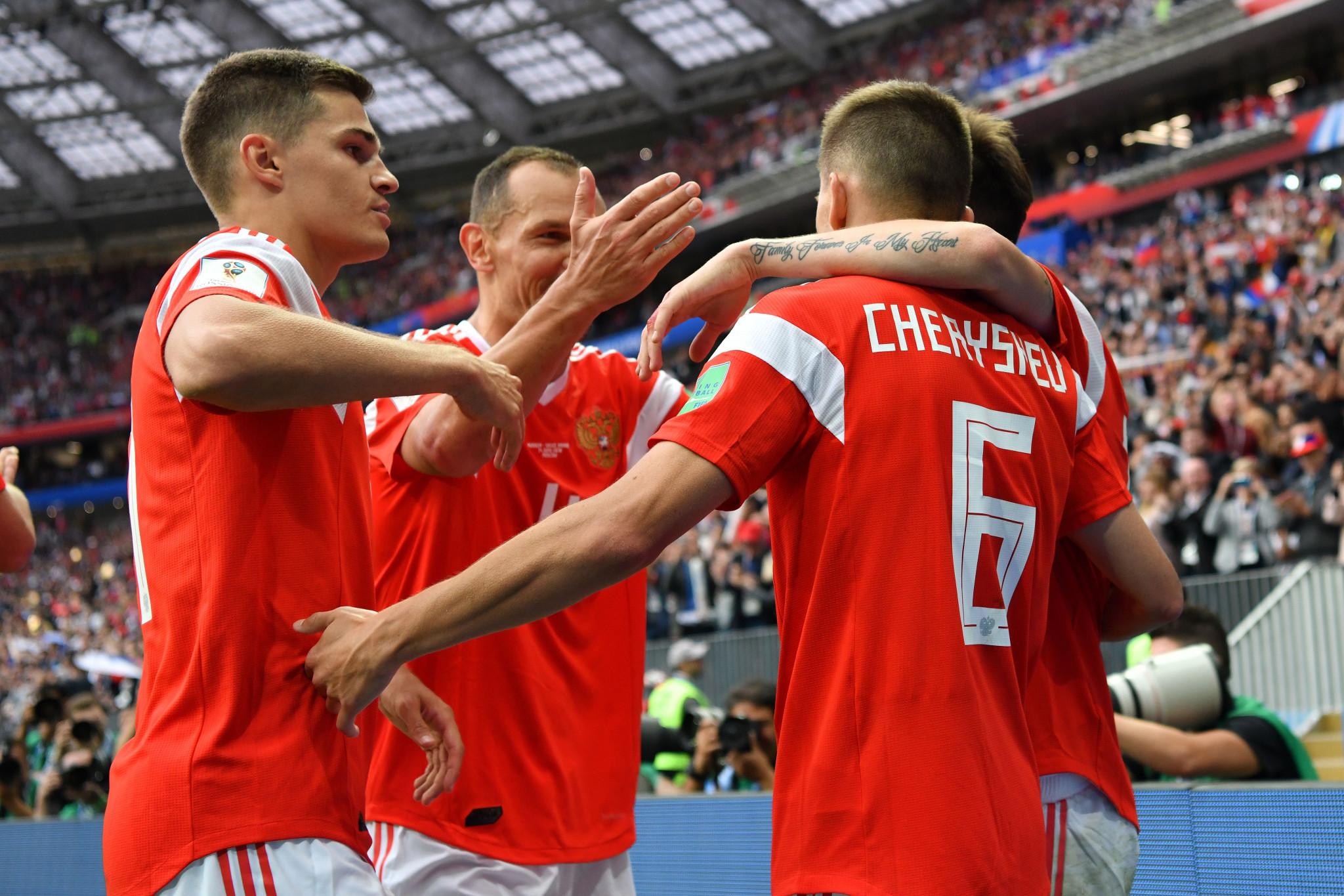 Russia thrash Saudi Arabia to open FIFA World Cup in perfect style