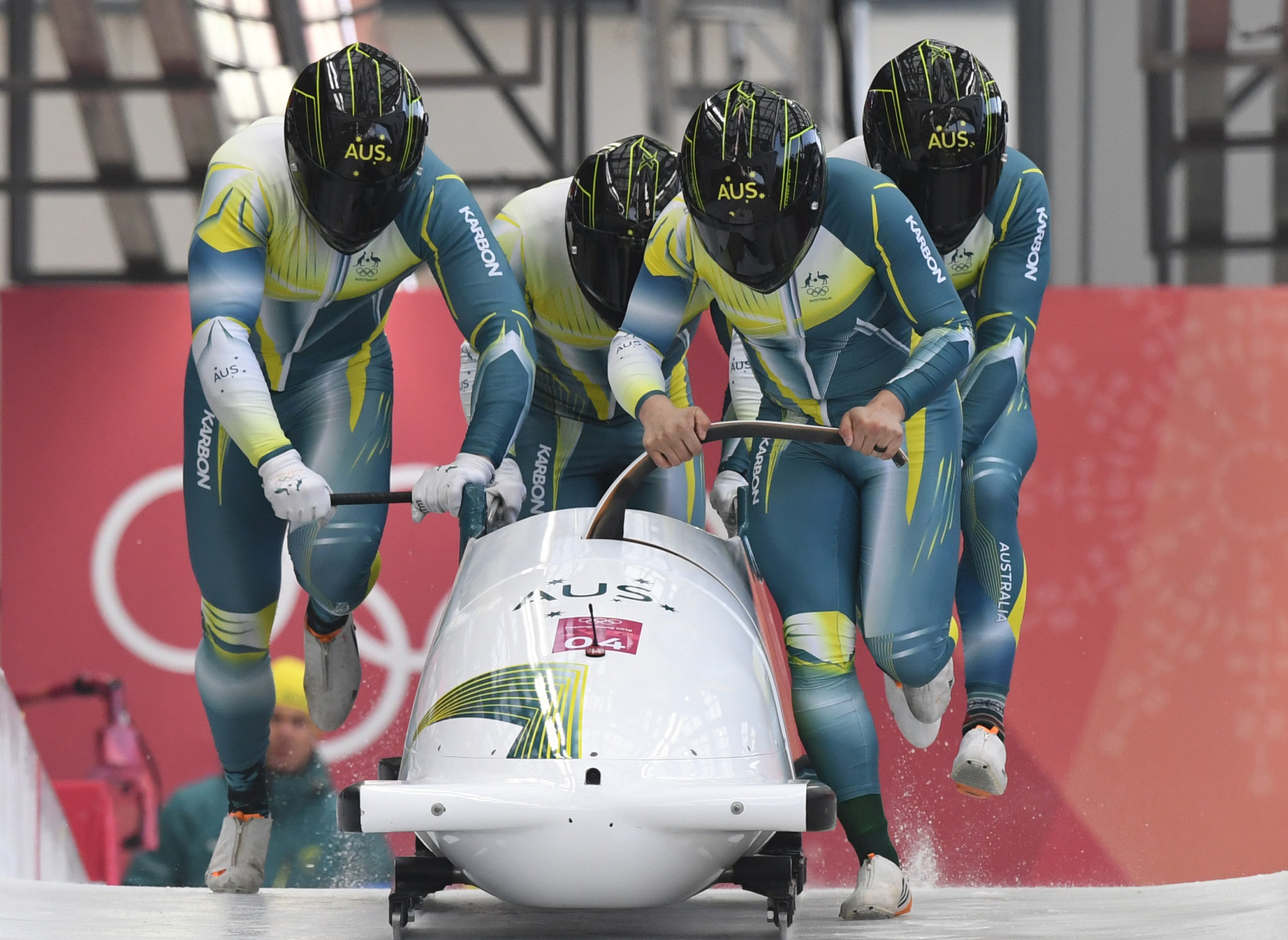Australia's four-man bobsleigh team from Pyeongchang 2018 will be among those participating ©Getty Images