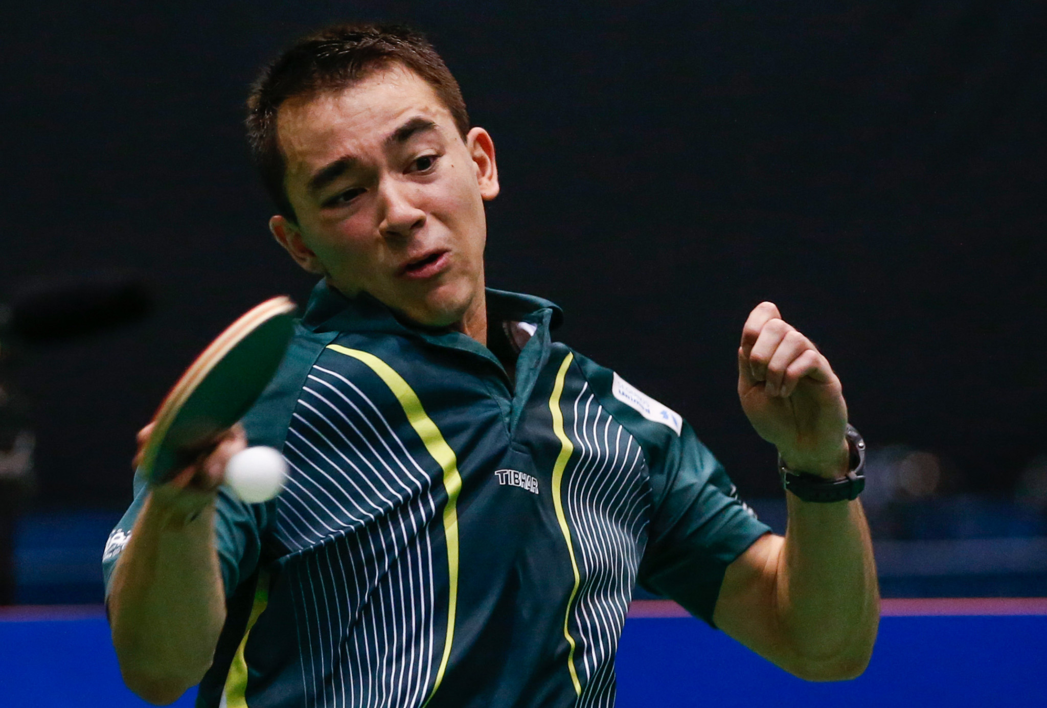 Hugo Calderano will head the men's singles field in Asuncion ©ITTF
