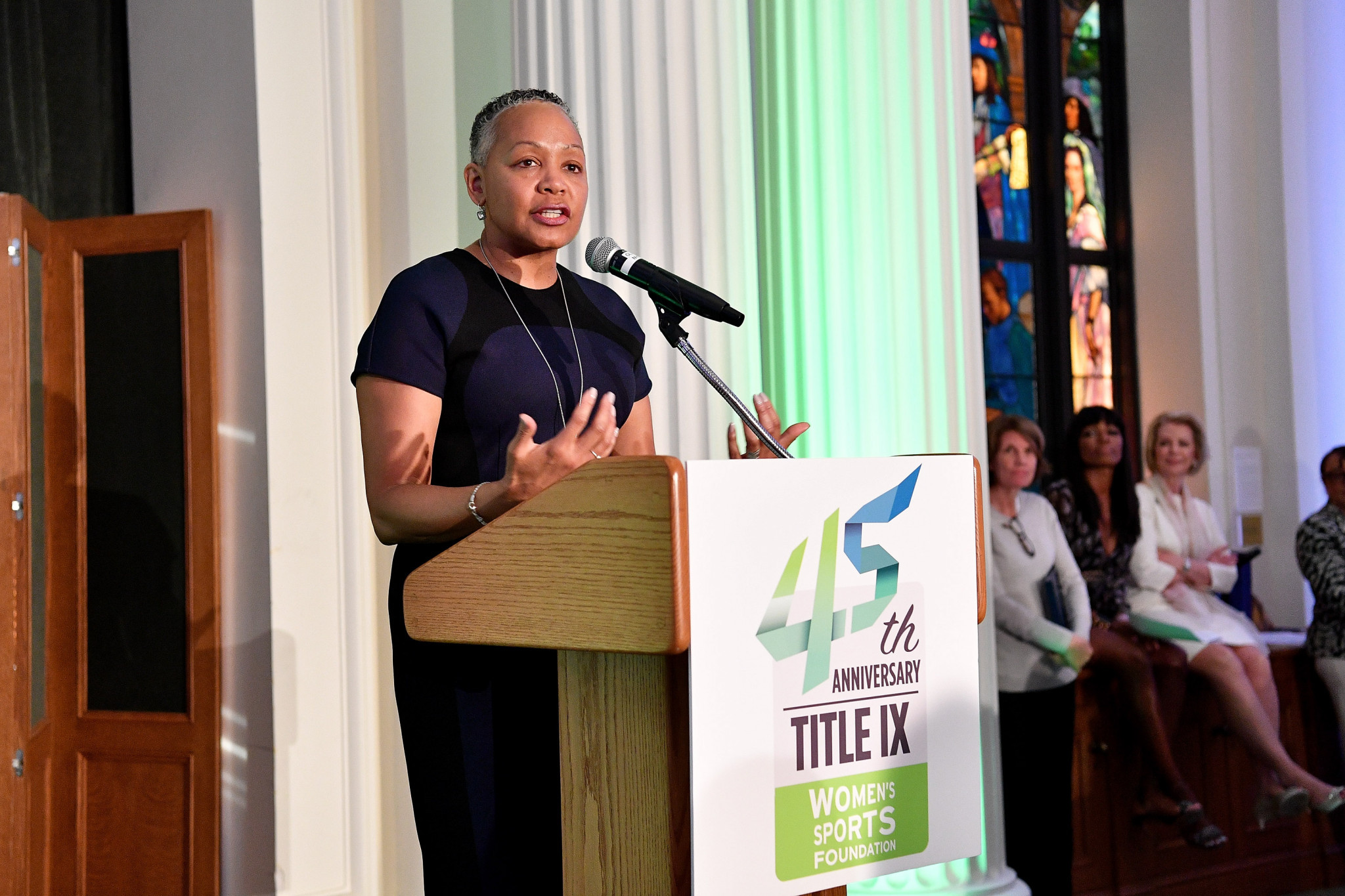Lisa Borders will chair the Athlete and National Governing Body Engagement Commission ©Getty Images