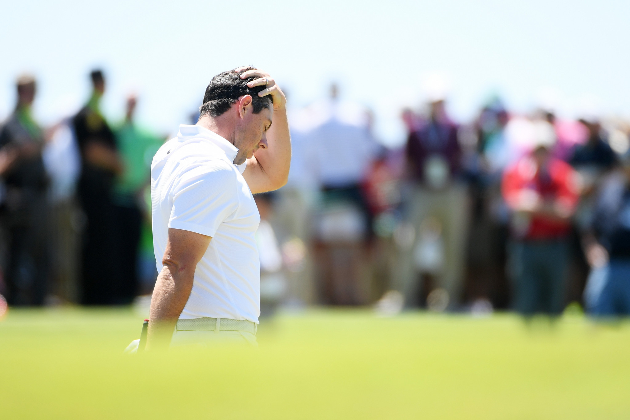 Rory McIlroy endured a difficult opening round to finish 11 shots off the lead ©Getty Images