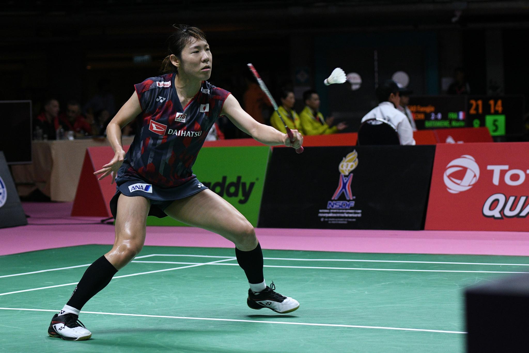 Sato suffers second round loss at U.S. Open Badminton Championships