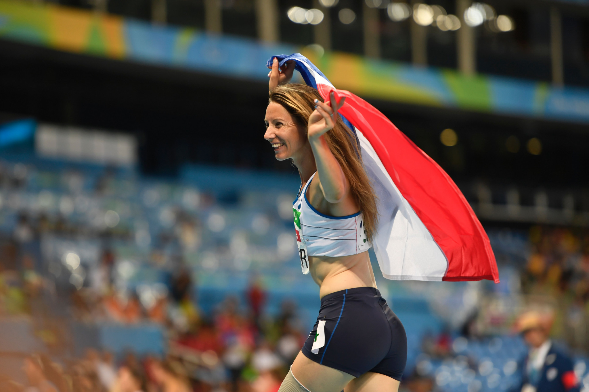 Successful return to athletics for French Para-long jumper Le Fur