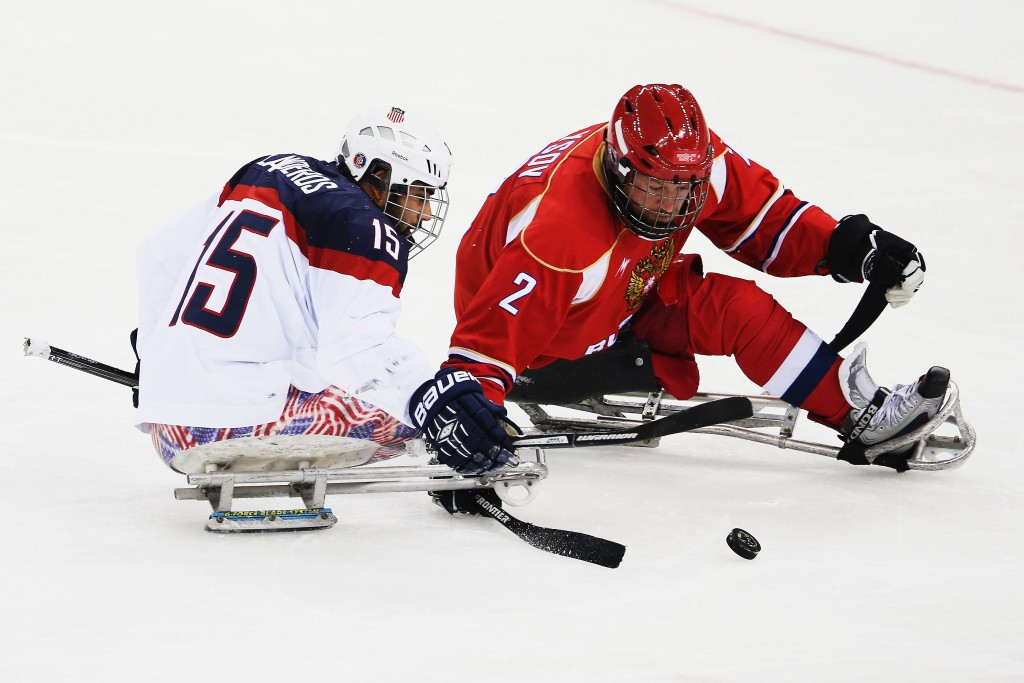 Hosts America thrash Russia in repeat of Sochi 2014 gold medal match at IPC Sledge Hockey World Championships A-Pool