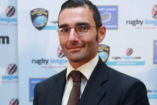 Kazandjian named Rugby League International Federation operations manager