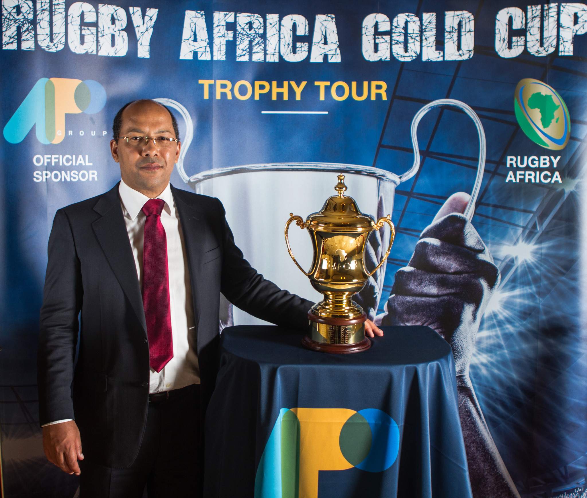 The winners of the Rugby Africa Gold Cup will get their hands on a 2019 Rugby World Cup spot as well as the Perpetual Trophy ©Getty Images
