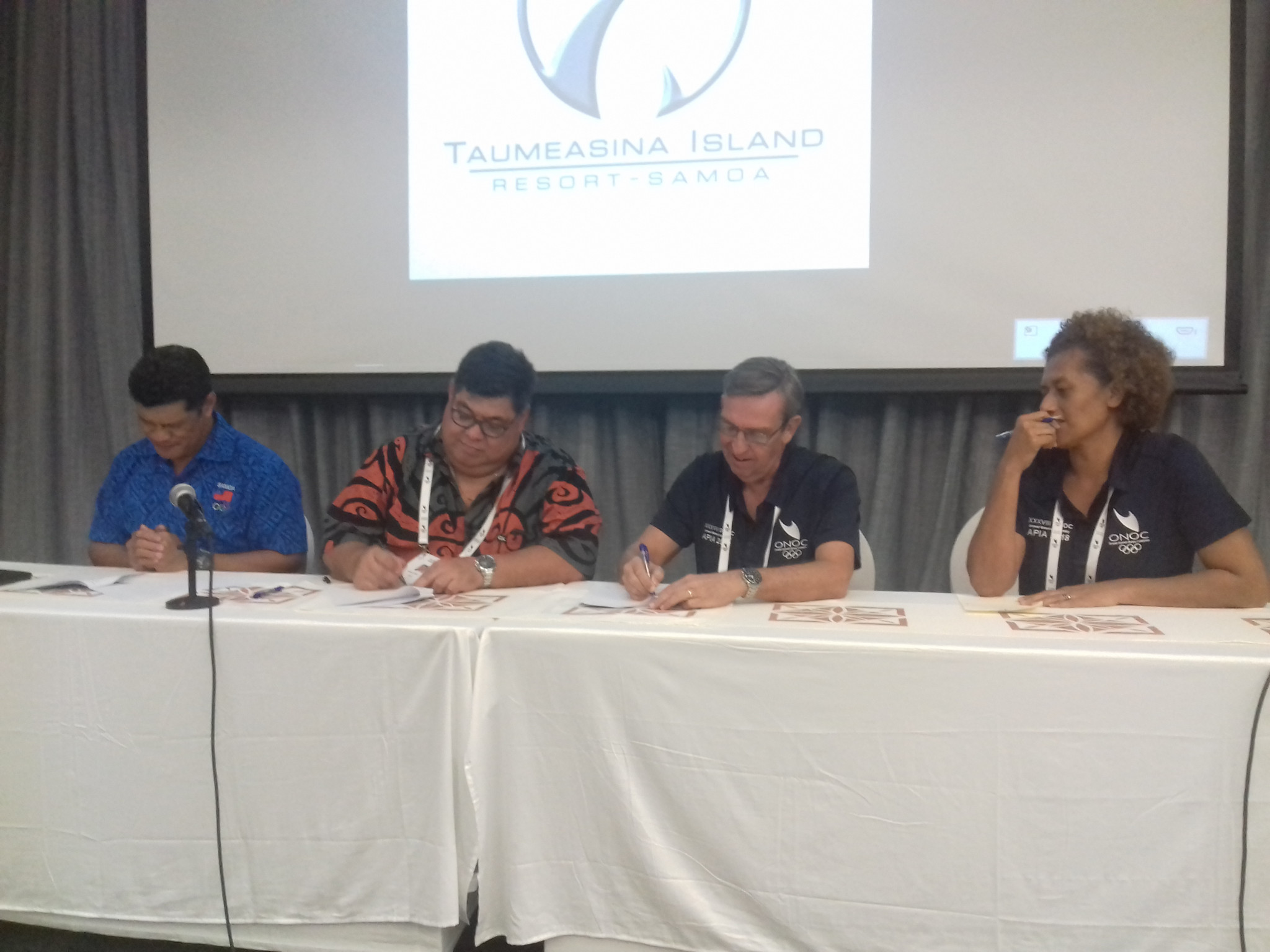 The partnership will see SASANOC work on training pathways in sports administration and coaching ©ITG
