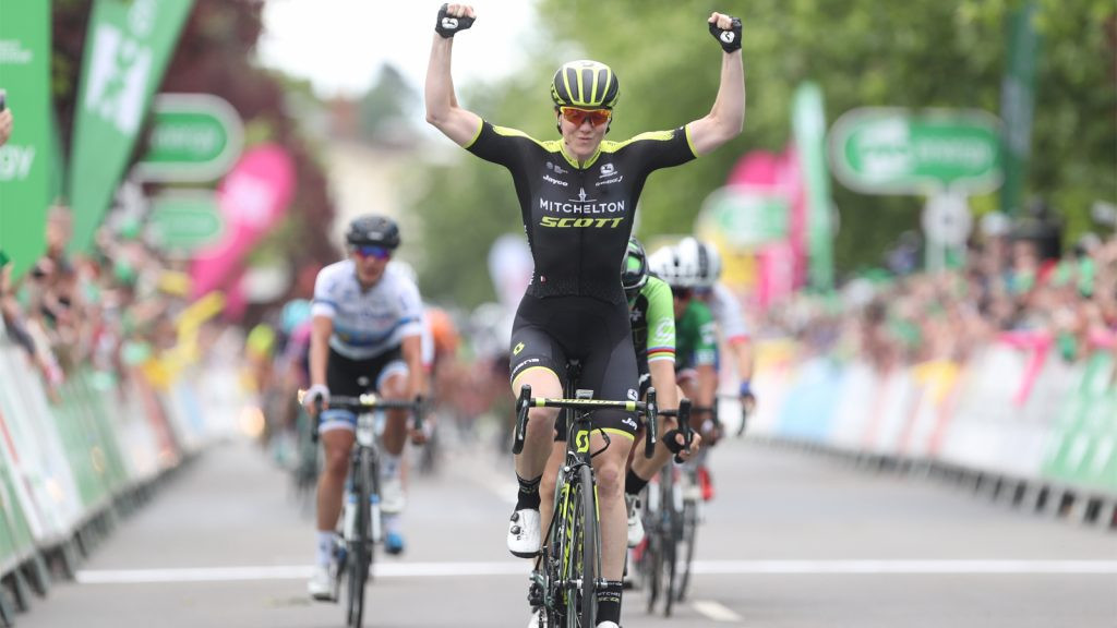 Two wins in three days for Mitchelton Scott team at Women's Tour