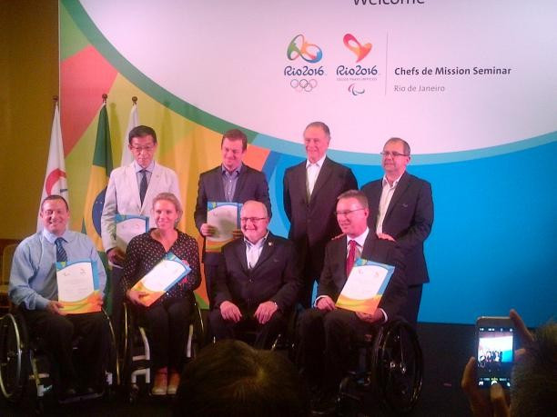 Five countries have been officially invited to the Paralympics ©IPC