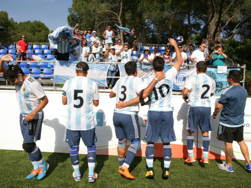 Argentina and Brazil make final at IBSA Blind Football World Championships