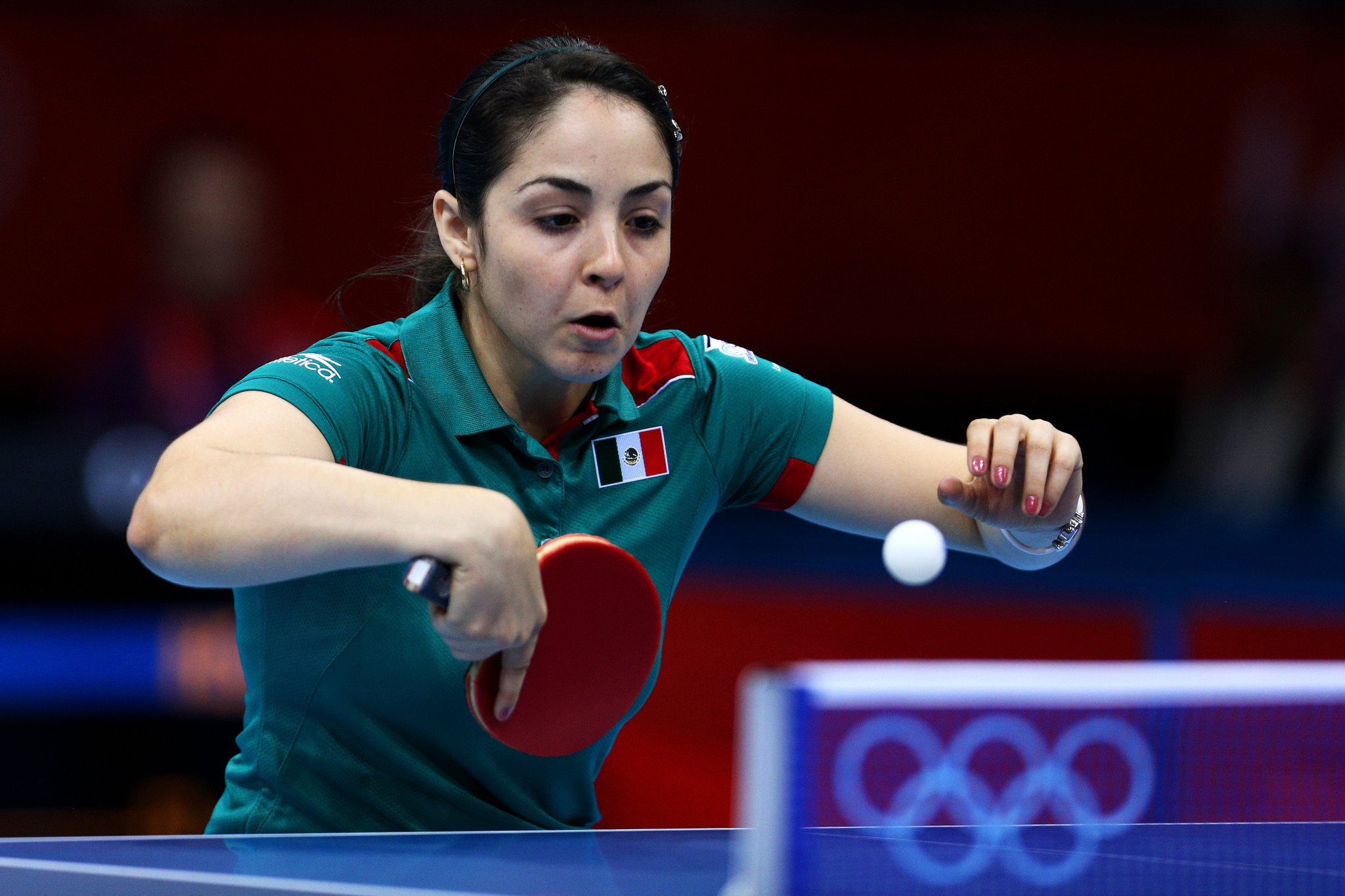 Mexico's Yadira Silva advanced in the women's singles competition ©Getty Images