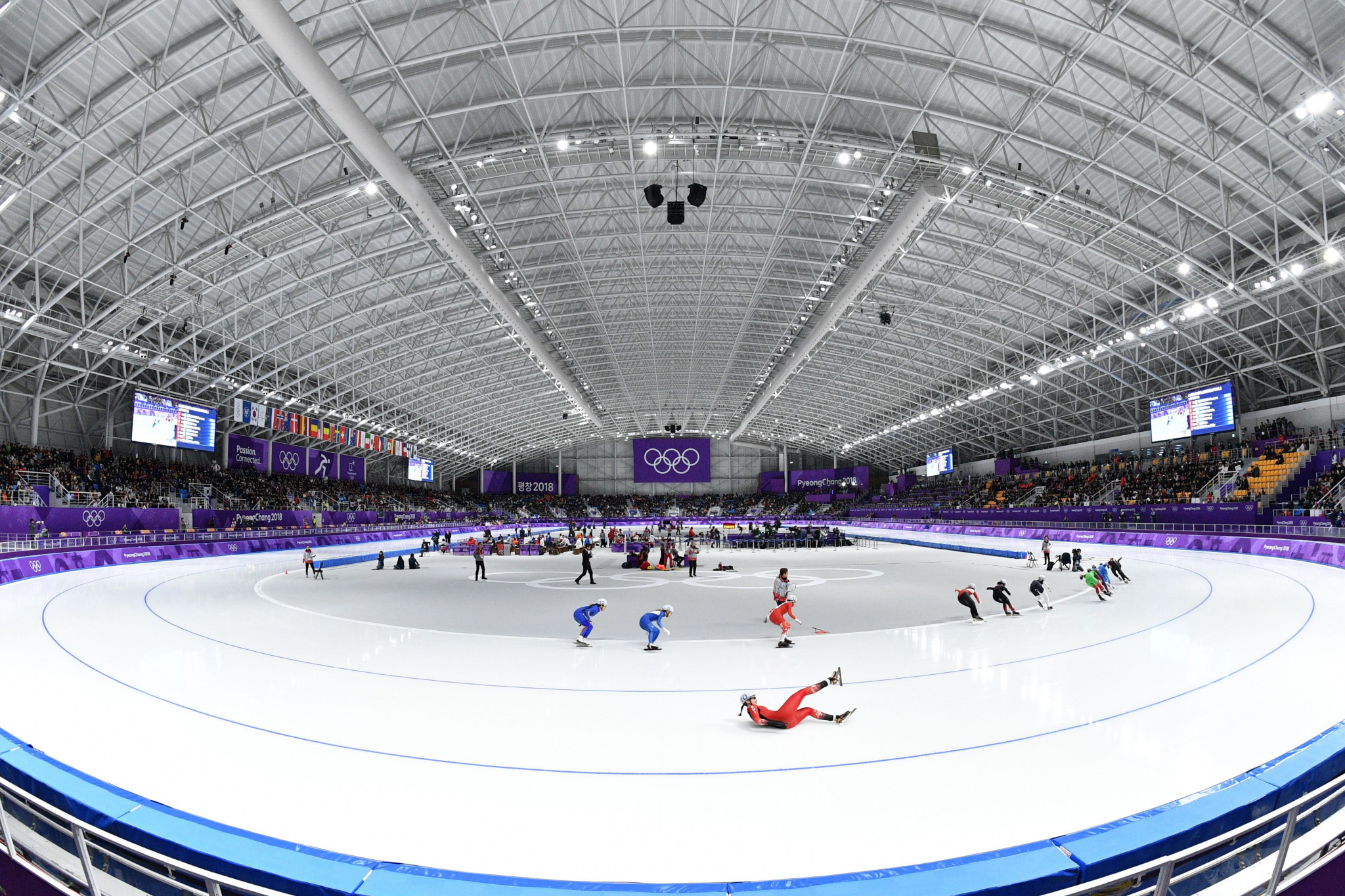The Gangneung Oval is one of three Pyeongchang 2018 venues where there are no legacy plans are in place ©Getty Images