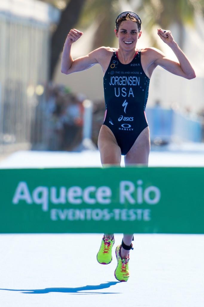 Gwen Jorgensen is the favourite to retain her women's world title