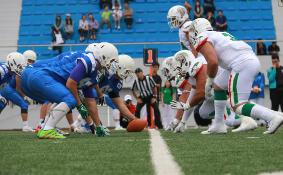 Two-time reigning champions Mexico thrashed South Korea 69-0 to get their campaign off to a flying start at the World University American Football Championship in Harbin in China ©WUCAF