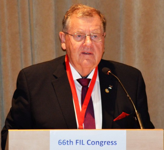 Fendt re-elected for seventh term as International Luge Federation President