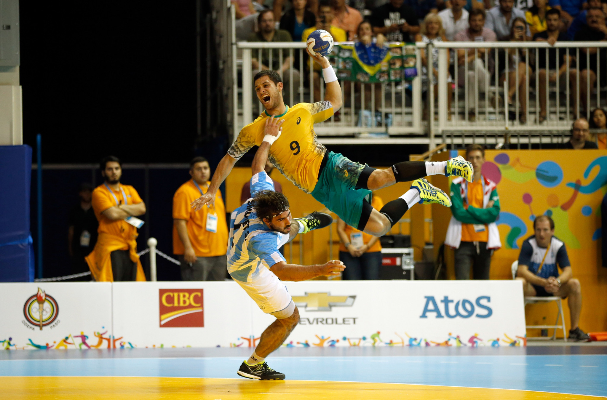 Defending champions Brazil make winning start at Pan American Men's Handball Championship