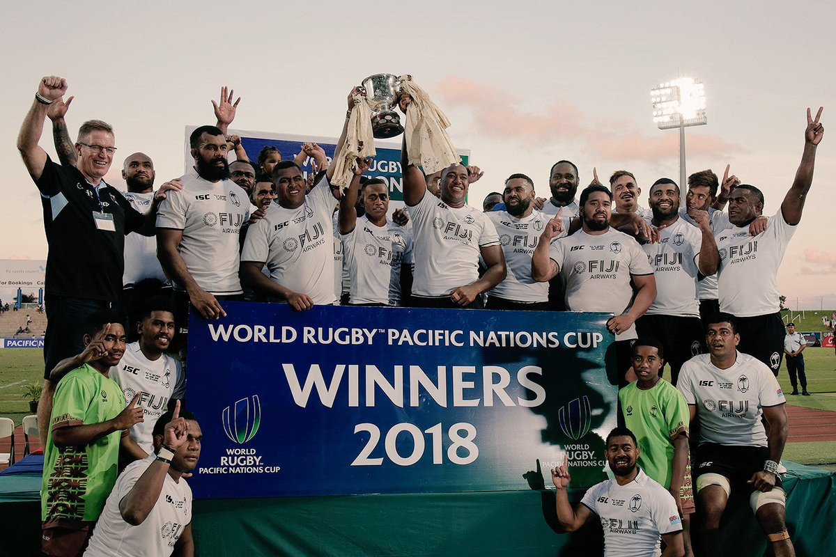 Fiji win World Rugby Pacific Nations Cup for fourth consecutive year