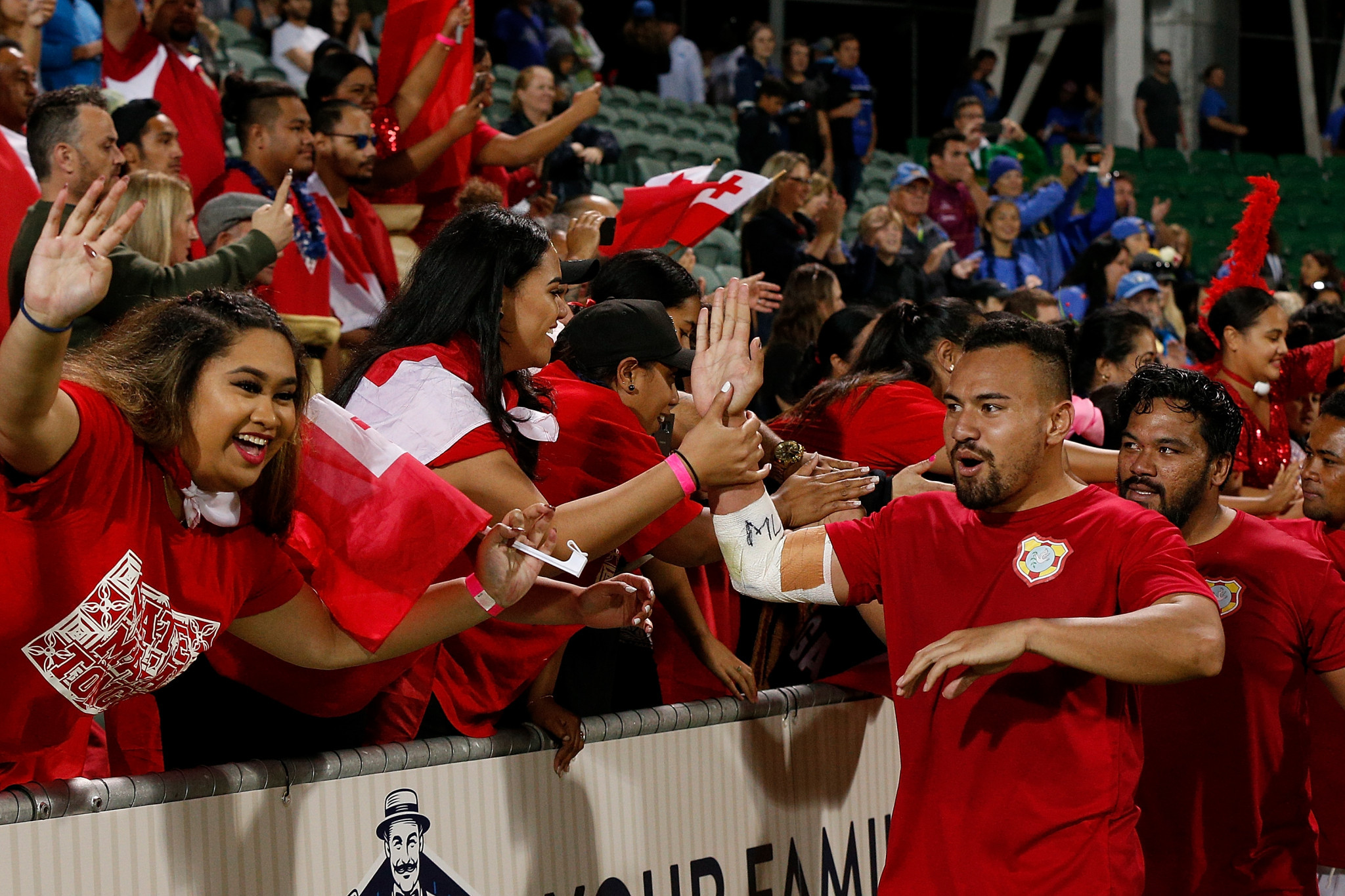 Tonga finished as the runners-up after beating Samoa ©Getty Images