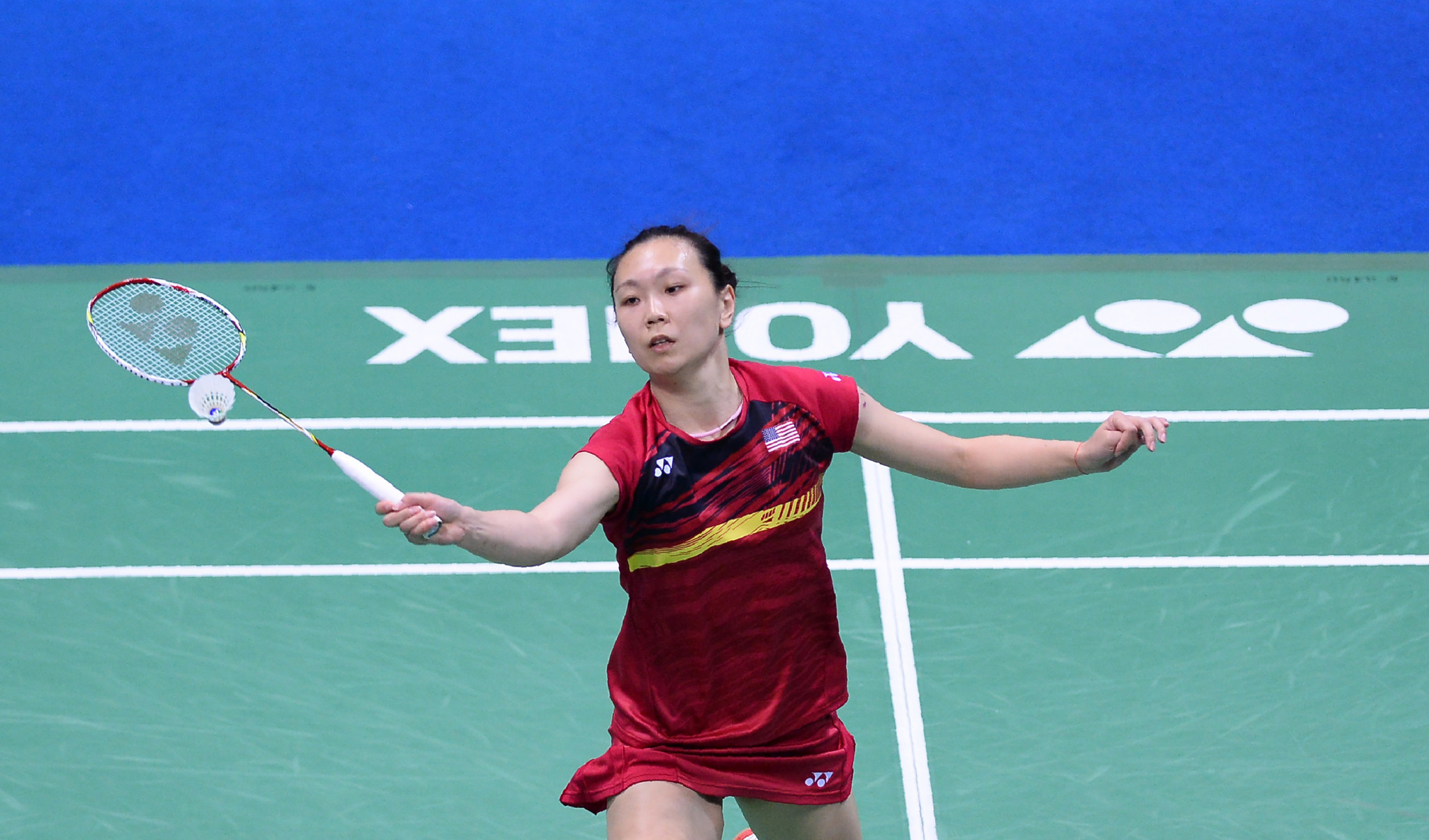 Beiwen Zhang booked her place in the women's singles final ©Getty Images
