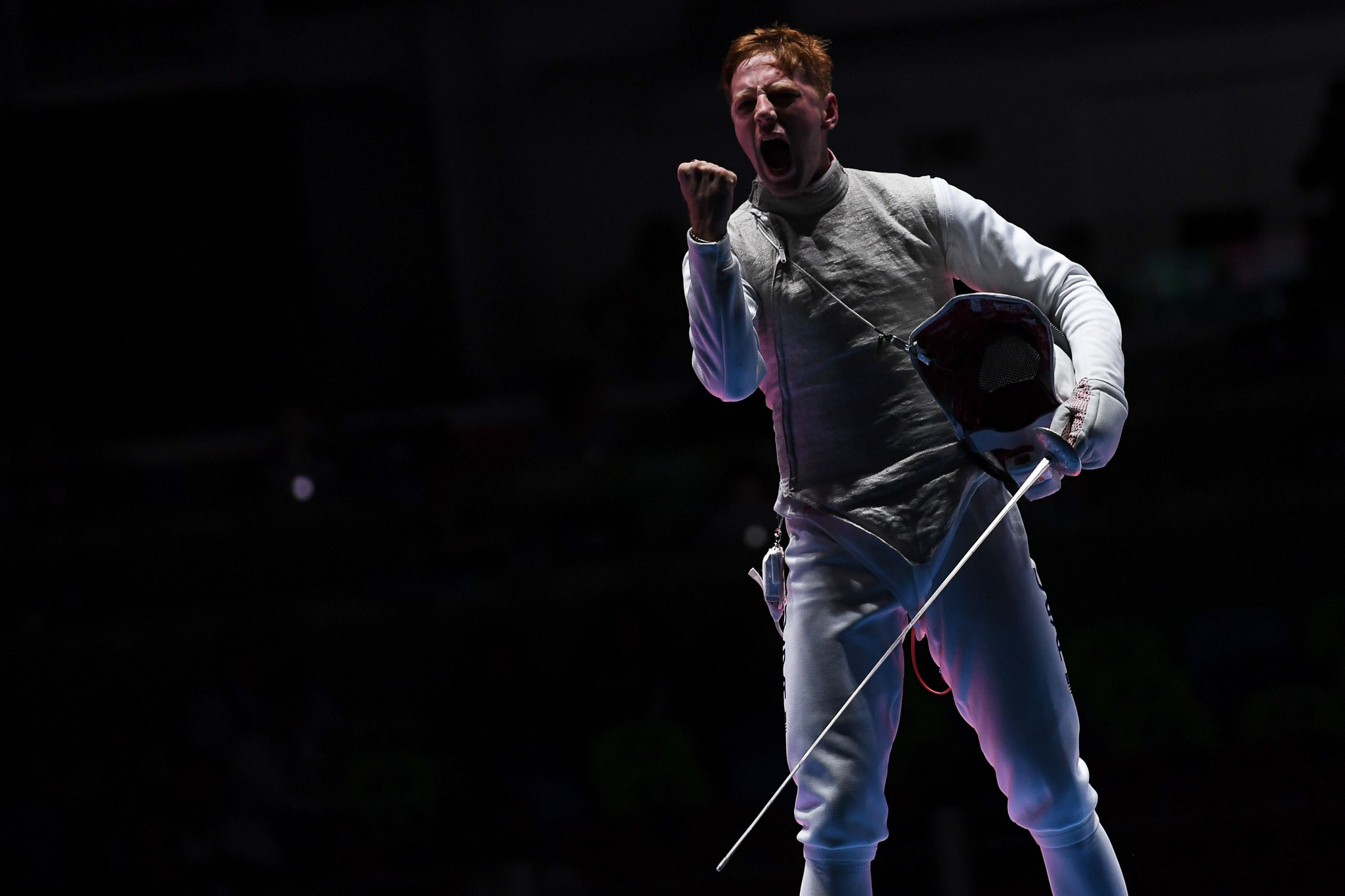 Race Imboden secured victory in the men's foil competition ©Getty Images