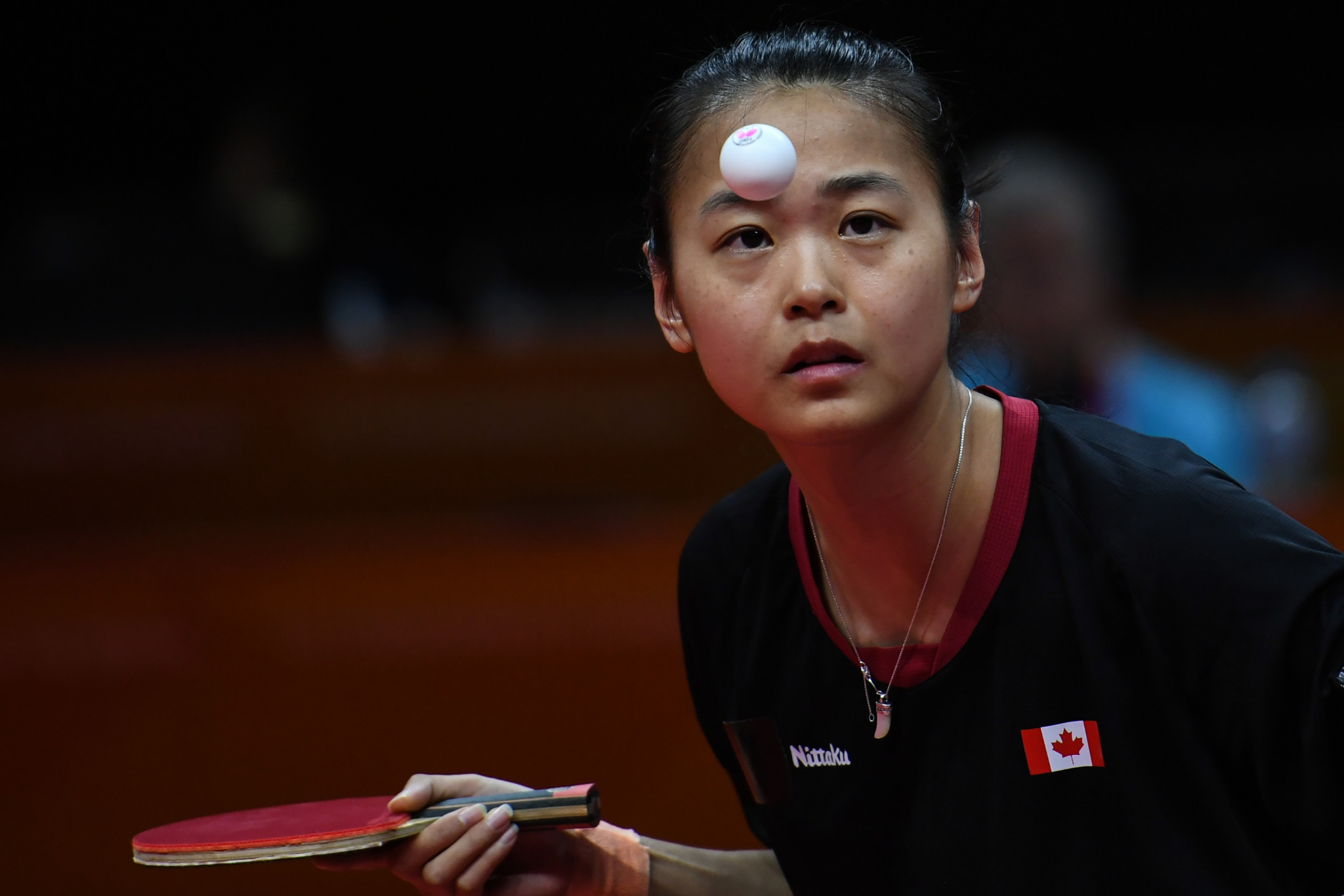 Canada's Mo Zhang made the women's final for the second straight year ©Getty Images