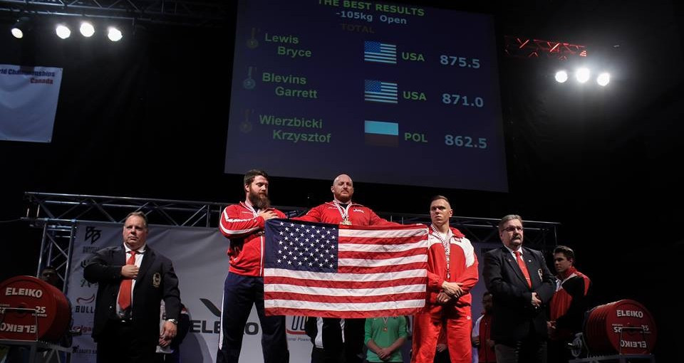United States earn four titles as world records broken at IPF World Classic Powerlifting Championships