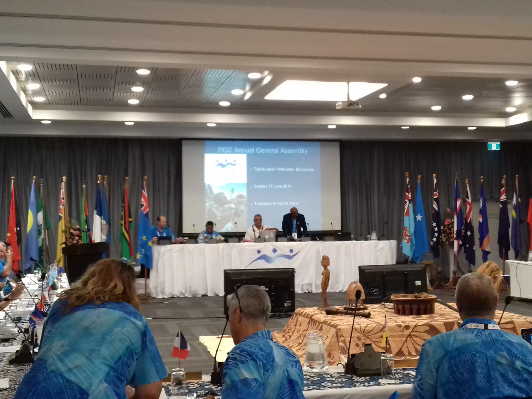 Pacific Games Council provide updates on finances and Tonga Government dispute at General Assembly