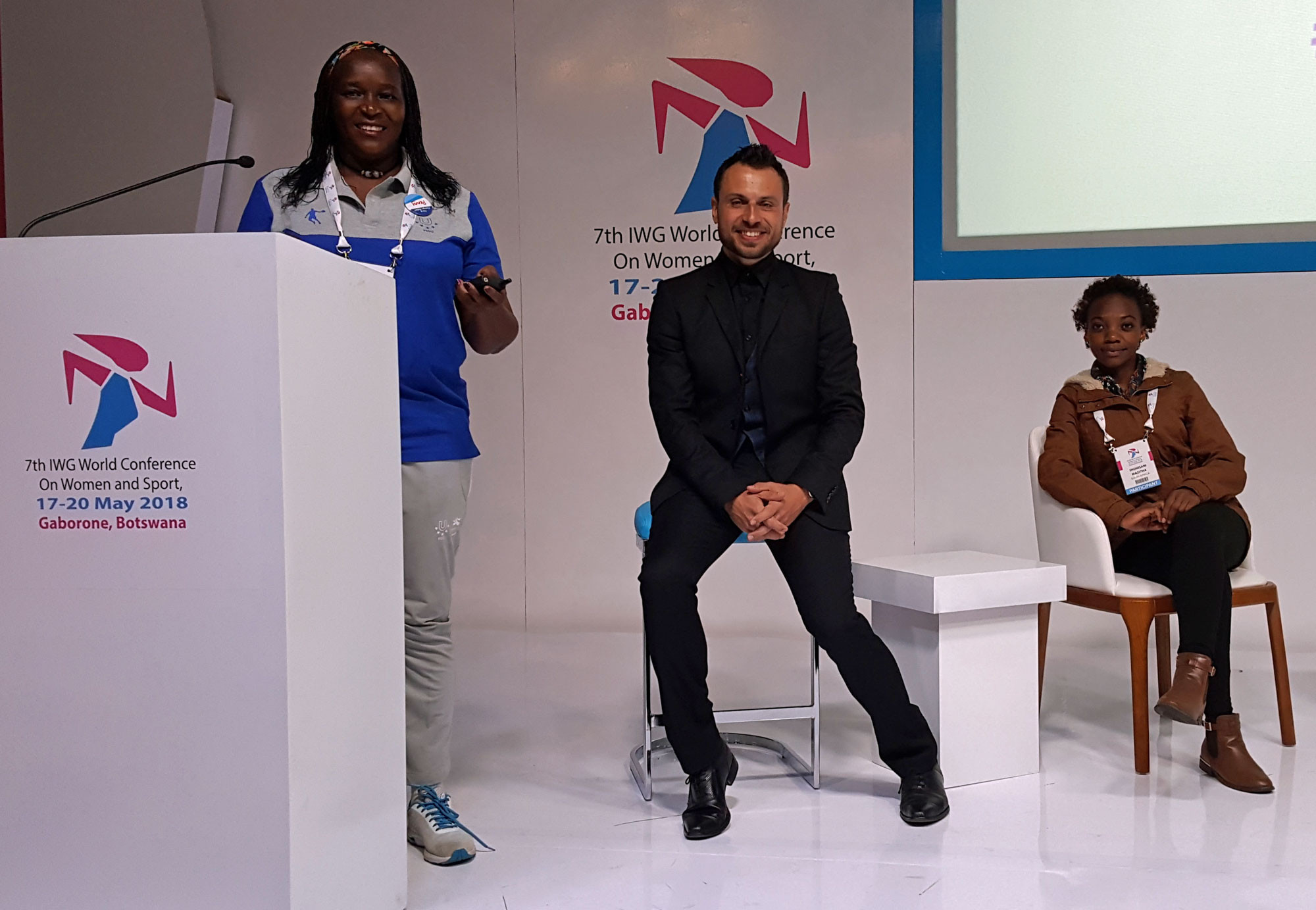 A global conference promoting women in sport was held last month in Botswana ©FISU