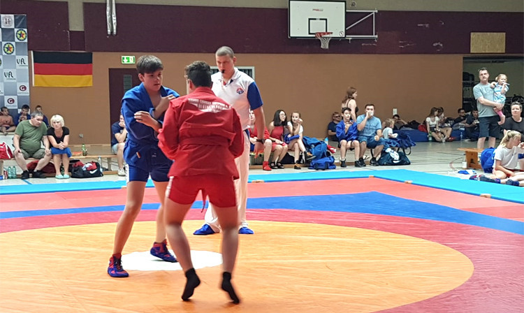 International sambo tournament hosted in Germany