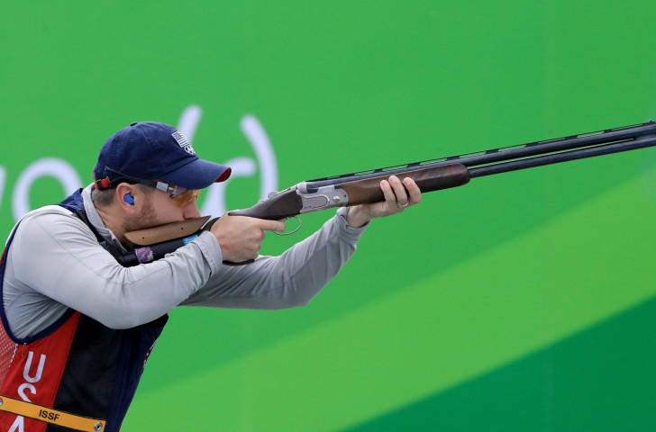 Double Olympic champion Vincent Hancock is one of seven US shotgun competitors who will benefit from a new deal with Federal Premium Ammunition announced by USA Shooting ©Getty Images