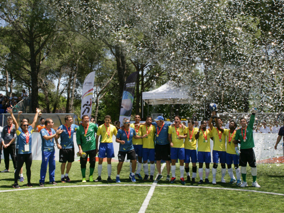 Brazil win Blind Football World Championships for record fifth time