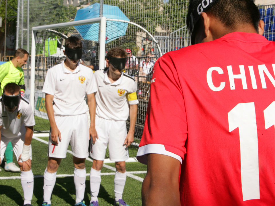 China beat Russia in the other game today to take third place ©IBSA