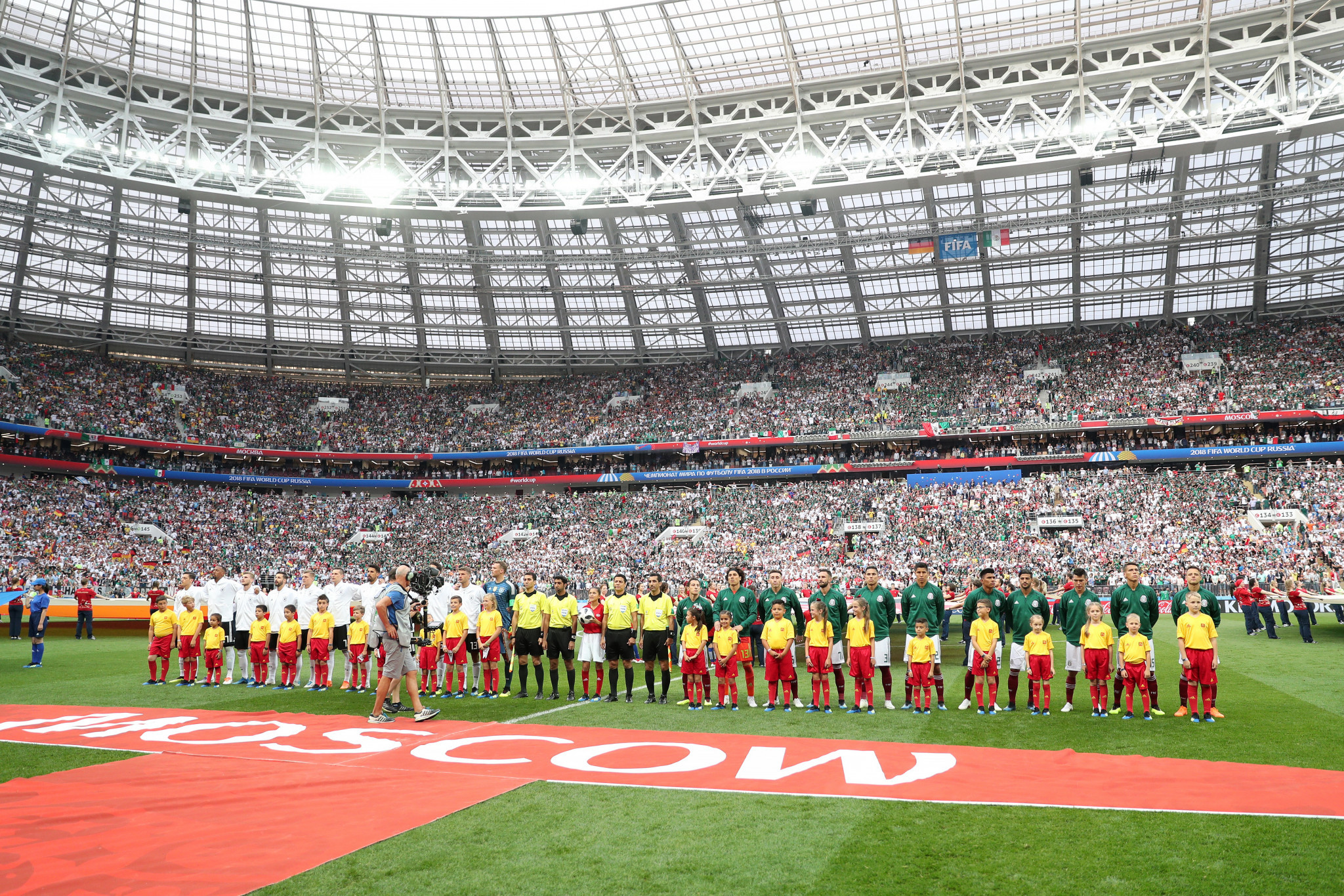 Visa cooperation between Russia and Belarus at the FIFA World Cup finals looks like being continued ©Getty Images