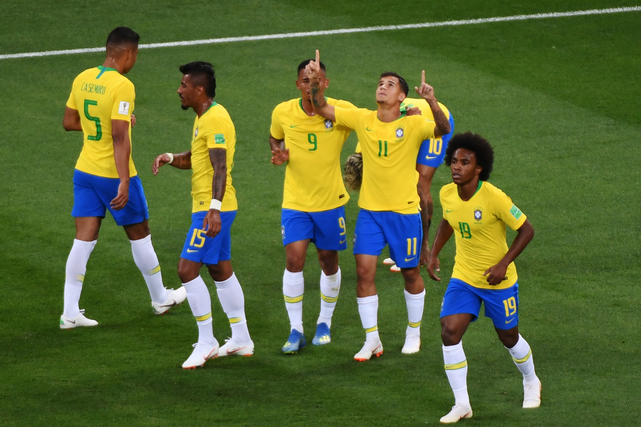 A Philippe Coutinho Wonder Goal Put Brazil In Front Against Switzerland Getty Images