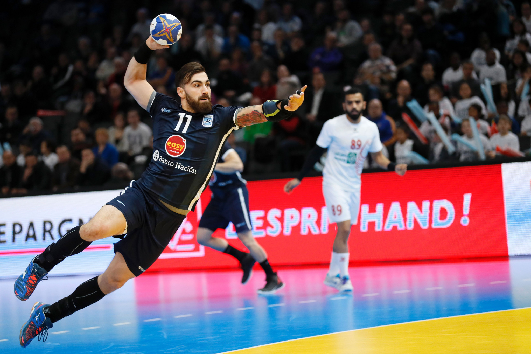 Argentina and Brazil continue perfect starts to Pan American Men's Handball Championship