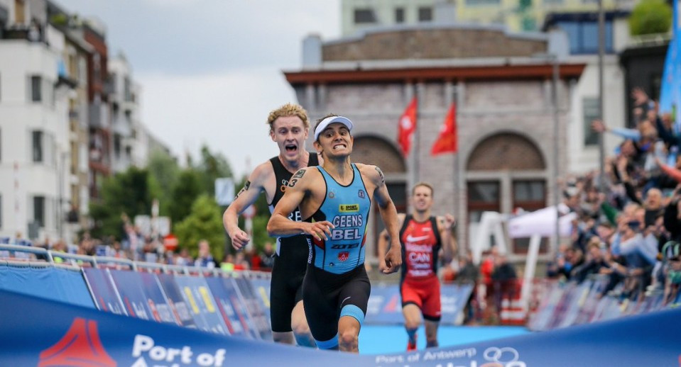 Geens wins on home soil at first ITU World Cup event in Belgium