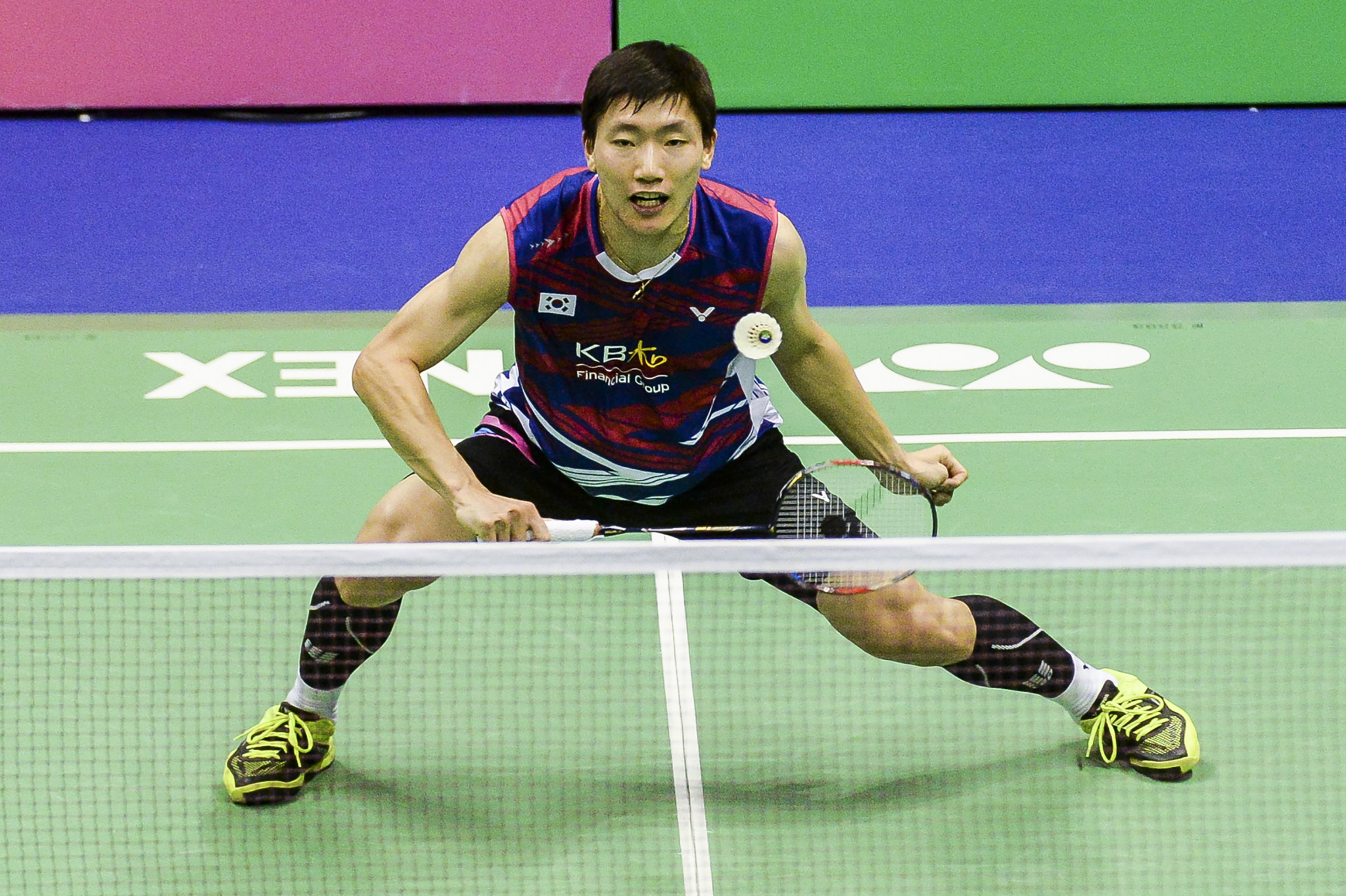 Lee Dong Keun came from behind to win the men's singles event ©Getty Images