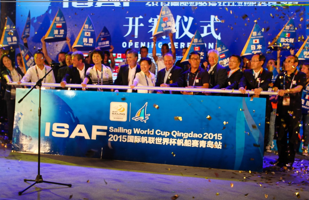 Fifth regatta of 2015 ISAF World Cup set to get underway in Qingdao
